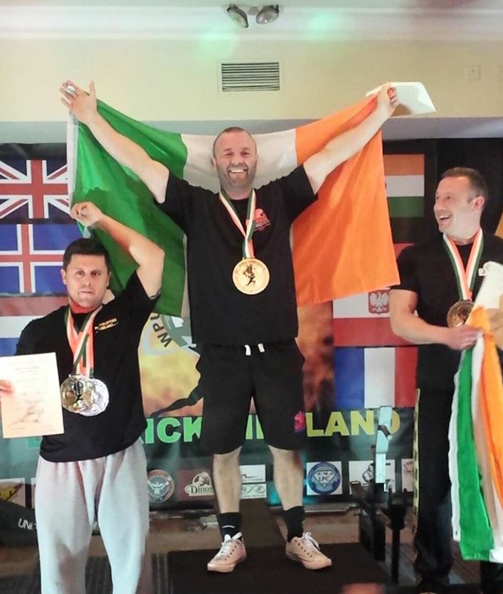Ben Kelly Irish Champion